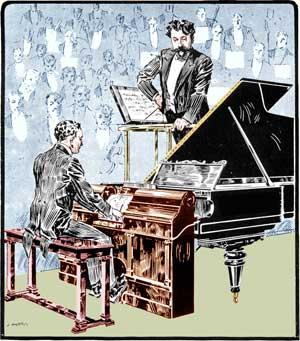 Piano Hupfeld Phonola German Ad 1912 Self Playing Music Roll Advertising Ad Merchandise & Memorabilia